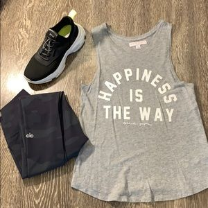 """S SPIRITUAL GANGSTER """"HAPPINESS IS THE WAY"""" TANK"""
